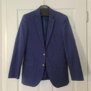 J.Crew Thompson Suit Blazer in Blue Chino NWT